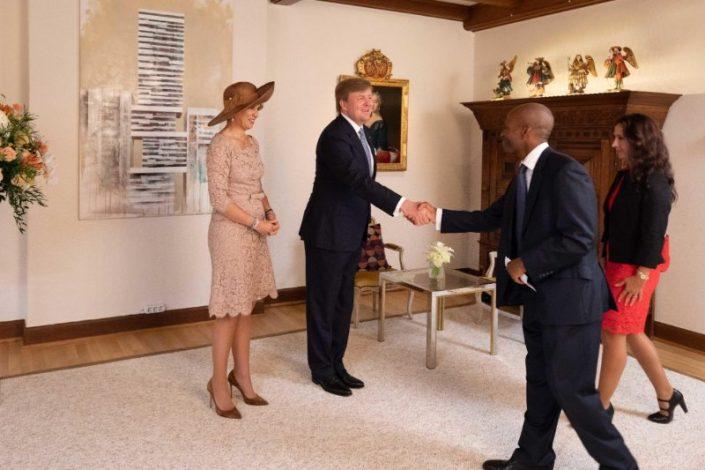 Ma rencontre avec le Roi et la Reine des Pays-Bas