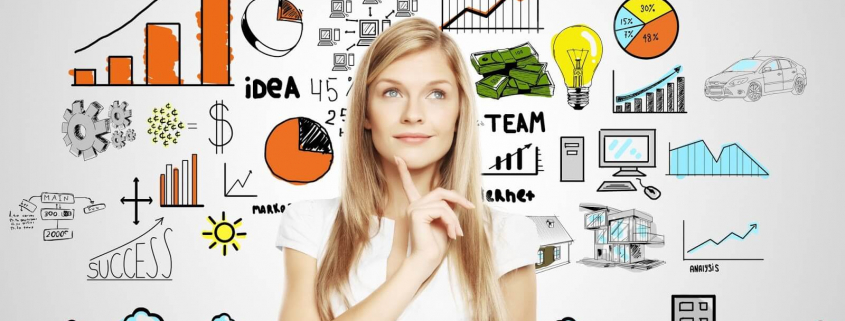 VLV-What are the necessary skills for entrepreneurship-Woman planning her business