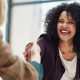 VLV-What to do to boost yourself in the world of work-Happy woman