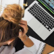 VLV-Anxiety is the worst enemy of work productivity-Woman with anxiety