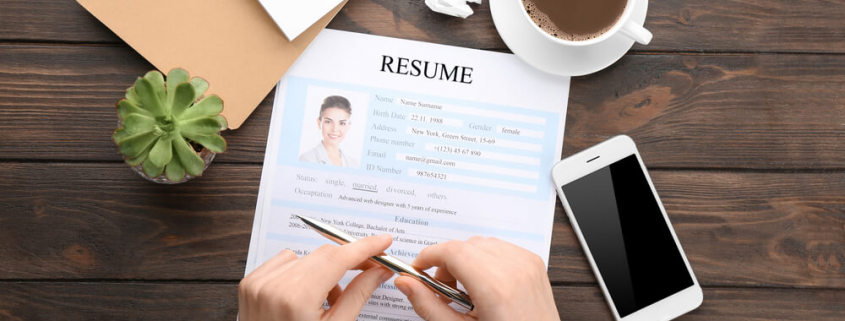VLV-Get-the-best-tips-for-writing-a-perfect-CV-and-Have-success-Woman-writing-her-cv