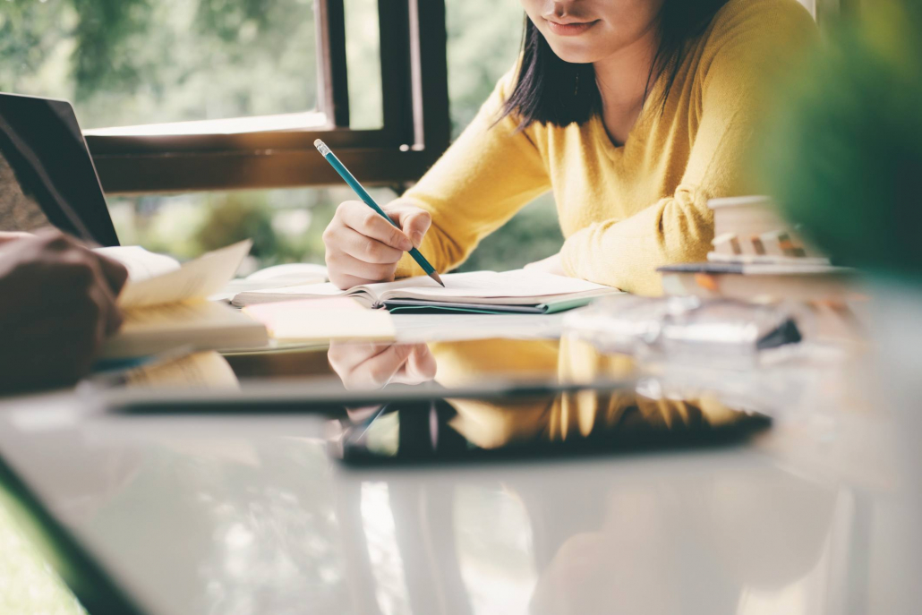 VLV-What are the careers and jobs of the future-Woman studying for her future