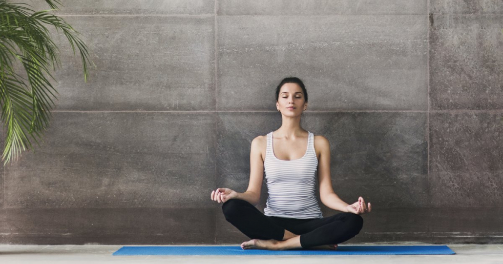 VLV-Know yourself Self-analysis and meditation strategies-woman in meditation
