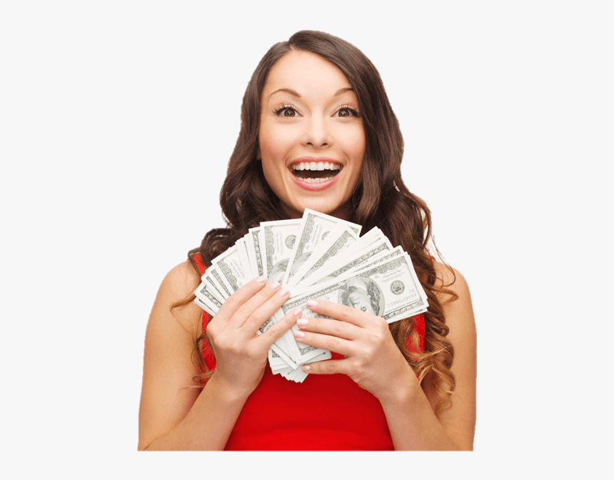 VLV-Passive income Earn money without working so hard-woman with money